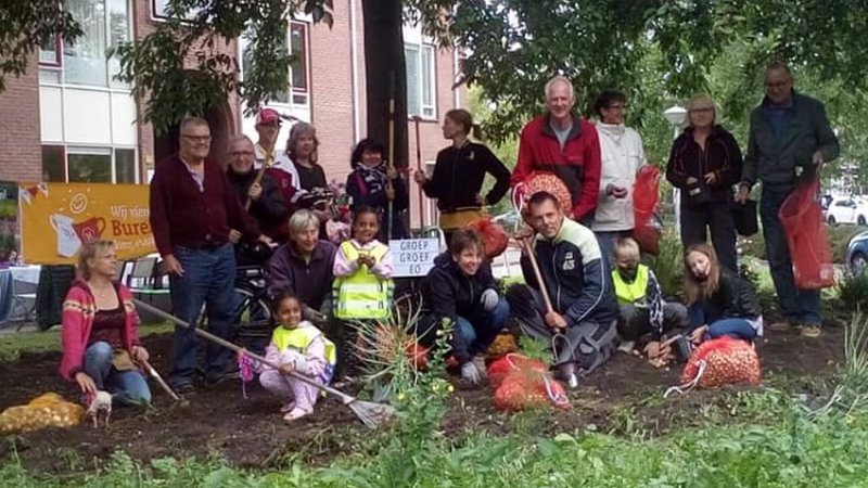 Vrijwilligers Stadslandbouw Hoorn
